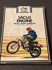 SACHS ENGINE Motorcycle Service Manual_100 125_DKW PENTON MONARK DALESMAN TYRAN