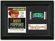 Mary Poppins Framed Film Cell 35 mm Film Cell Stunning display Julie Andrews