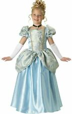 Deluxe Blue Enchanting Princess Girl Child Halloween Costume size 6