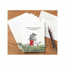 Night Before Christmas Stirring Mouse Blank Holiday Greeting Cards 8 w Envelopes