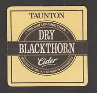 BD - Bierdeckel - Coaster, DRY BLACKTHORN CIDER , Taunton / England