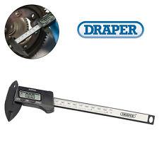 "Draper 150mm (6"") Internal/External LCD Display Digital Vernier Caliper Gauge"