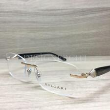 76f0812877f Bvlgari 2190-B 2190 B Eyeglasses Gold Black 2014 Authentic 53mm