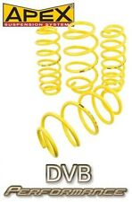 Apex To Fit BMW 3 Series E30 saloon Extra Low 60mm Lowering Springs
