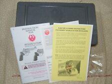 Ruger Gp100 Factory Hard Case W/ Manual - 134047.