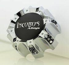 INCUBUS WX05C 165-170-180-8H CHROME CENTER CAP (WX05C & DECAL-INC)