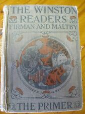 Antiquarian Book The Winston Readers Firman And Maltby The Primer Copyright 1926
