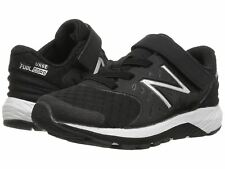 New Balance KVURGBWP Black White Kid's Athletic Shoes
