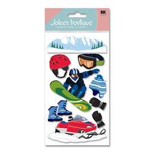 Snowboarding Colorado California Ski Resort Mountains Jolee's 3D Stickers