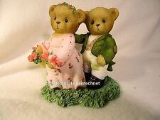 Cherished Teddies Lizzie and Darcie 2008 European Excl  NIB