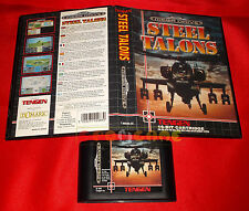 STEEL TALONS Sega Mega Drive Versione Europea PAL ○ SENZA MANUALE - DH