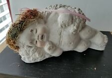 Dreamsicles Sleeping Cherub Angle Clay Art Figurine 1991 by Kristen