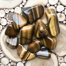 Large Golden Tiger's Eye Tumblestones 100g Wholesale Crystal Therapists Healers
