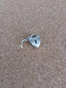Pandora Silver & Gold Key Lock Charm