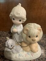 Precious Moments Figurine And A Child Shall Lead Them