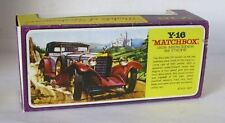 Repro Box Matchbox MOY Nr.16 1928 Mercedes SS Coupe Blisterbox