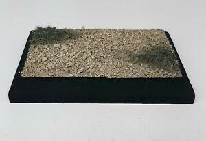 "1:35 1:48 1:72 Scale Built Figure Armor Model Display Base Desert Diorama 3""x4"""