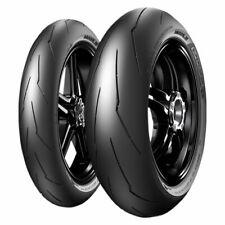 Motorcycle Tyres Pair 120/70ZR17 & 190/50ZR17 Pirelli Diablo Supercorsa SP V3