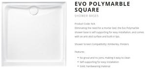 EV34CW BASE SHOWER EVO 1220X900 WHT R/O