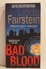 Bad Blood by Linda Fairstein 2007 Paperback