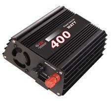Professional Series 400 Watt Power Inverter/ Convert 12v DC to 110v/120v AC