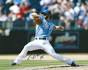 GFA Kansas City Royals TIM COLLINS Signed 8x10 Photo T4 COA