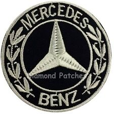 Mercedes Benz iron on patch car logo sports motor racer badges formula 1 racing