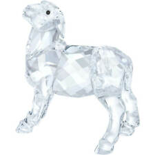 New in Box $79 Swarovski Nativity Scene - Sheep Clear Crystal #5298145