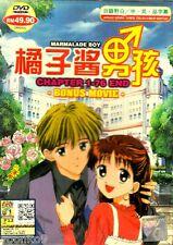 DVD Anime Marmalade Boy Complete TV Series 1-76 End + Movie English Subtitle R0