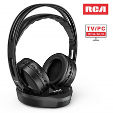 Wireless TV Headphones Over Ear Hi-Fi Stereo Headset TV Watching PC VCD Headp...