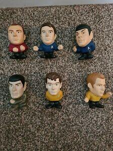 Star Trek 2009 Burger King 6 Talking Toys Figures