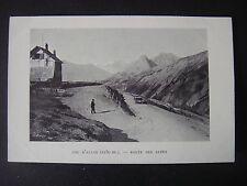 CARTE  POSTALE  :  COL  D'allos  -  04  -  Route des Alpes