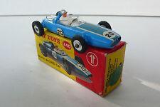 DINKY TOYS  GB COOPER RACING CAR   REF240 1963 BON ÉTAT  BOITE D'ORIGINE  N°1