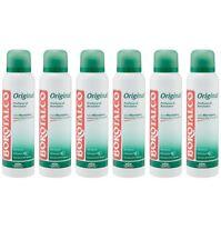6pz BOROTALCO ORIGINAL deodorante spray con microtalco 150ml corpo deo NUOVO