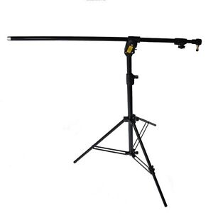 Manfrotto Combi Boom Stand Black With Sandbag G100 Tripod 420B