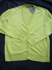 Marc O ´ polo cardigan giacca uomo primavera/estate verde mis. L NUOVO NUOVO