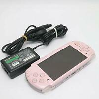 Sony PSP 3000 Launch Edition Blossom Pink Handheld System Charger Battery JAPAN