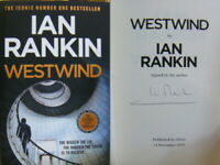 Signed Book Westwind by Ian Rankin First 1st Edition Hardback 2019