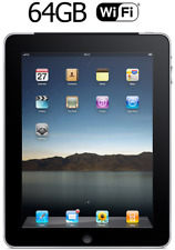 Apple iPad 1st Gen 64GB, Wi-Fi, 9.7in Black / Silver, A1337, MC497, 3G Cellular
