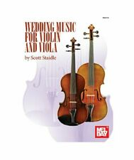 Wedding Music for Violin & Viola Music Book & Insert-Brand New On Sale Songbook!