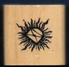 HOT MAIL Flame Love Note VALENTINE Gift Tag card  Anita's NEW Craft RUBBER STAMP