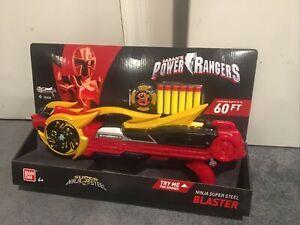 Saban's Power Rangers Super Ninja Steel Blaster Red