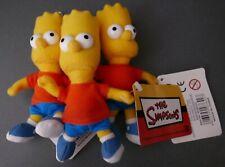 Bart Simpson The Simpsons Stuffed Plush Toy Key Ring Keychain 125mm BRAND NEW