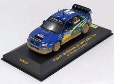 SUBARU IMPREZA WRC #2 MEXICO RALLY 2004 N°RAM158 1/43 IXO