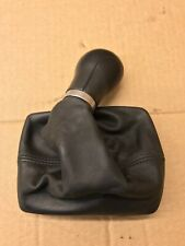 AUDI A4 B8 8K MANUAL 6 SPEED GEARBOX GEARSTICK SHIFTER KNOB LEATHER BOOT