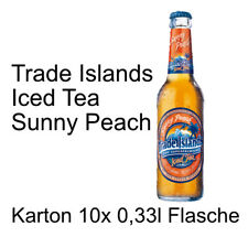 Trade Islands Iced Tea Sunny Peach 10 Flaschen je 0,33l