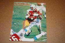 MANNY FERNANDEZ 1972 DOLPHINS SIGNED 8X10 PHOTO 17-0