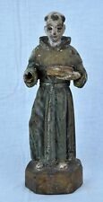 Antique very old Catholic polychrome wood sculpture, probably Sai (BI#MK/180711)