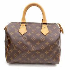 Originale Louis Vuitton Borsetta Speedy 25 M41528 Marrone Monogramma 304811