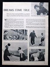 MICHAEL BRIGHTMAN WARSOP NOTTS NAT LOFTHOUSE FOOTBALL PLAYER PHOTO ARTICLE 1954